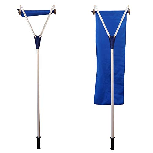 Cheapest Prices! QWE Roof Snow Rake Removal Tool 20 Ft with Adjustable Telescoping Handle Rooftop Sn...