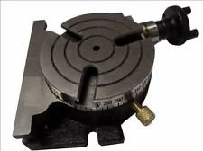 Low Profile 3'' (80 mm) Horizontal Vertical Rotary Table -3 Slots Milling