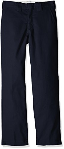 Dickies Boys Slim Taper Flex Pant, Dark Navy 14