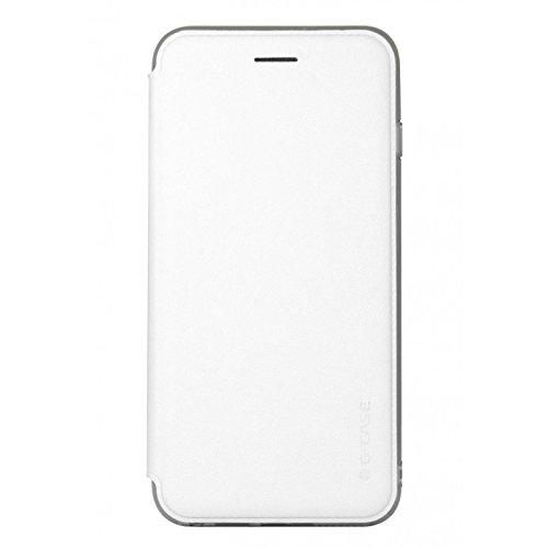 "G-CASE Folio Breathe Blanc pour iPhone 6+ (5.5"")"