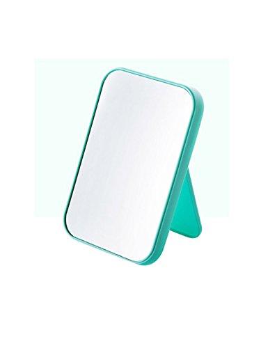 WJL Tabletop Vanity Makeup Mirror,Compact Travel Makeup Mirror, Portable Folding Cosmetic Mirror (Portrait Mirror Dresser)