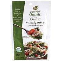 Simply Organic Org Garlic Vinaigrette Salad Dressing Mix (24x1 OZ)