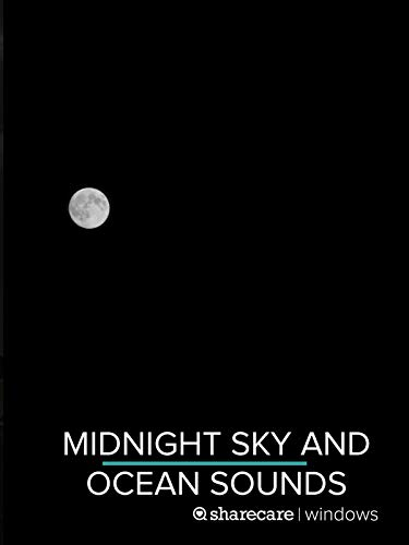 Midnight Sky and Ocean Sounds for sleep 8 hours (Best Cricket Phone 2019)