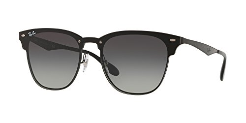 Ray-Ban the Blaze Square Sunglasses, Demi Gloss Black, 41 - For Ray Sunglasses Ban Case
