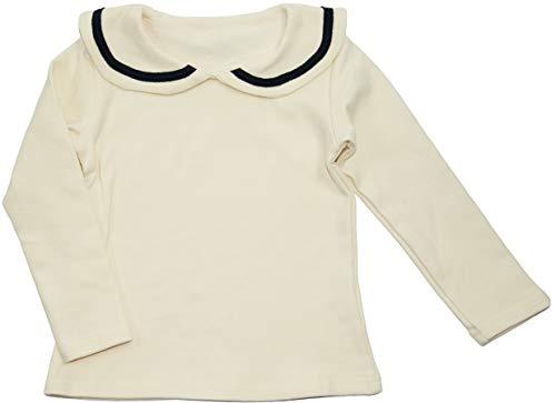ContiKids Girls' Peter Pan Collar Polo Shirt Blouse
