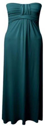 Selfie Knot Stretch Womens Click Boob Beach Maxi Summer Teal Oq4Cdv6w