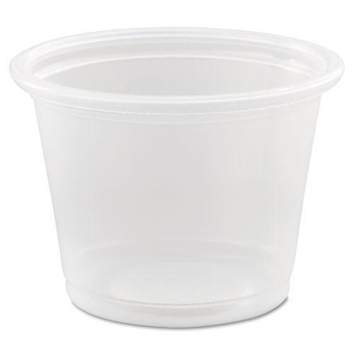 DCC Conex Complements Portion/Medicine Cups, 1oz, Clear, 125/Bag, 20 Bags/Carton (100PC) ()