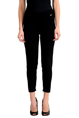 Dsquared2 Women's Black Stretch Legging Pants US XS IT 38