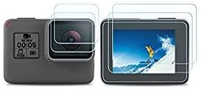 3 Paquetes] Protector de Pantalla para GoPro Hero 7 (Solo Negro ...