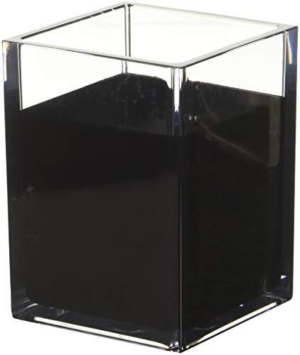 [해외]HomeCrate 모던 책상 정리함 - 4개 세트 / HomeCrate Modern Desk Organizer Pencil Cup, Set of 4 - ClearBlack