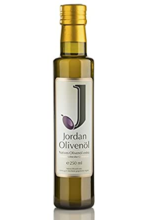 wholesale dealer 4994d d5594 natives Olivenöl extra – 0,25 L Flasche – von Jordan Olivenöl