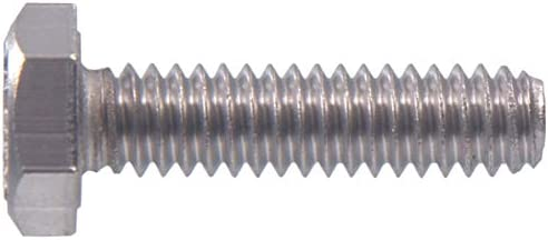 100-Pack The Hillman Group 831487 1//4 X 1-Inch Stainless Steel Hurricane Track Bolt