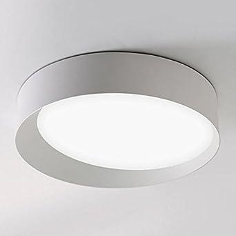 Led Fer Noirblanc De PlafondPlafonnier En Circulaire Lumière Qaz 8OPyvN0wmn