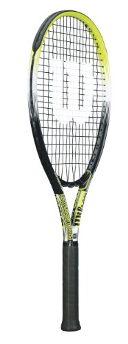 Wilson Sporting Goods OS 500 Adult Strung Tennis Racket without Cover
