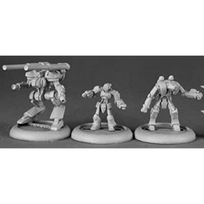 XAIRobots Chronoscope Series Miniatures by Reaper: Toys & Games