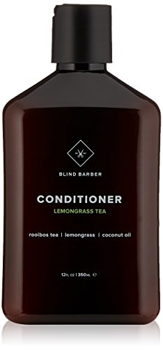 Blind Barber Lemongrass Tea Conditioner - Sulfate & Paraben Free Nutrient-Rich Conditioner for Men with Coconut Oil, All Hair Types (12 Ounces, 350 Milliliters)