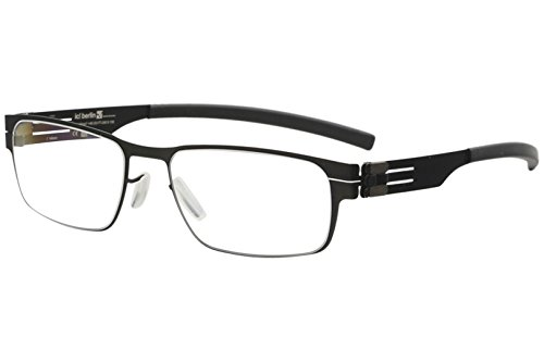 ic! Berlin Rast Flex Black Eyeglasses 51MM for sale  Delivered anywhere in USA