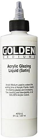 Golden Acrylic Satin Glazing Liquid (Acrylic Golden Paint)