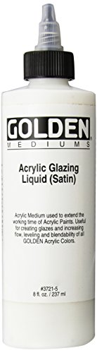 Golden Acrylic Satin Glazing Liquid (37215)