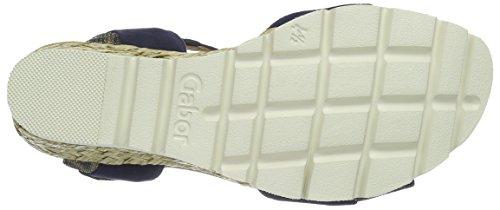 Blue blau Sandali 36 Gabor Donna Blu Comfort n1nWPq6