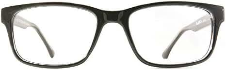 Retro Eyeworks Wilshire Bifocal Anti-glare Reading Glasses 51-19 MM 1.75x Black