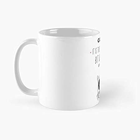 Taza clásica con cita de gato graciosa, el mejor regalo tazas de café, 325 ml