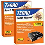 Magnet Roach - Victor M256 Poison-Free Insect Magnet Traps, 12-Pack (2 packages= 24 total)