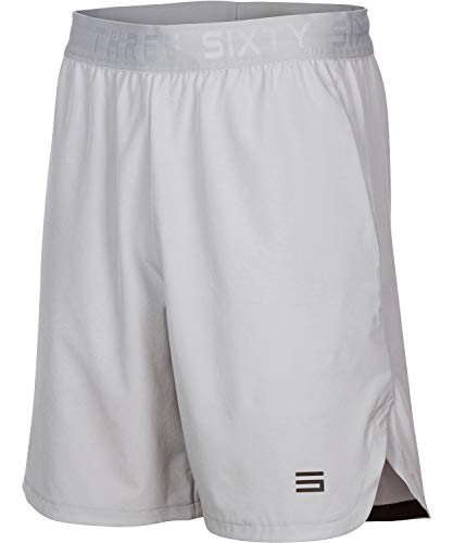 Dry Fit Gym Shorts for Men - Moisture Wicking Mens Shorts with Pockets and Adjustable Waistband