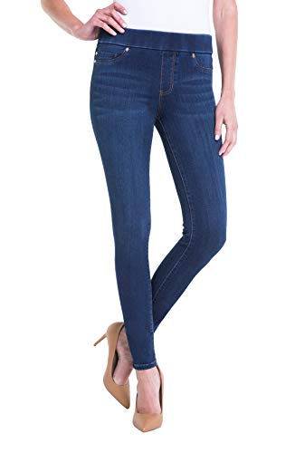 "Liverpool Women's Sienna Legging Pull-On Denim Jean 30"" Inseam"