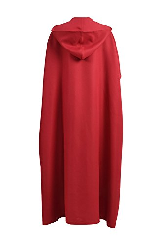 VOSTE Handmaid Costume Halloween Cosplay Women Long Maxi Casual Dress with Cloak (XX-Large, Cloak) by VOSTE