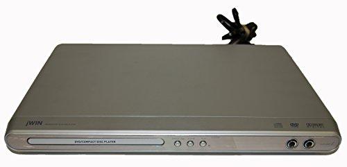 jWin Model JD-VD520 DVD / CD Player w/ Karaoke Dual Microphone (Jwin Model)