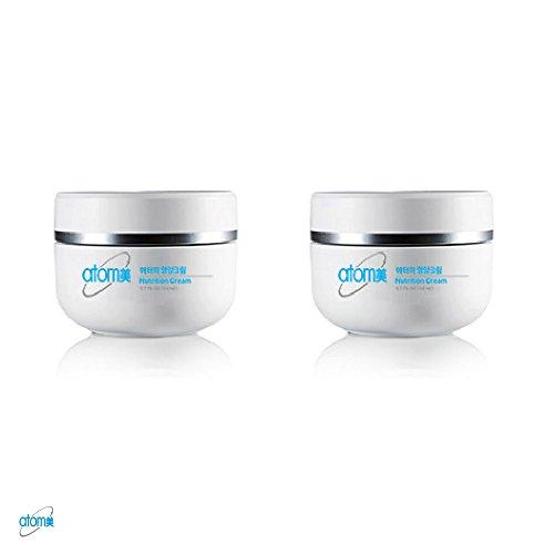 Atomy Nutrition Cream 1.7 Fl Oz 50ml Herbal Skin Care Anti Aging Anti Aging Wrinkle Moisture Skin Care 2 Bottle 1 Set