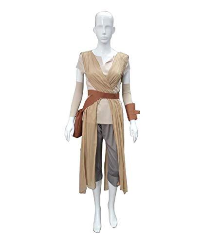 Women's Star Wars Force Awakens Rey Costume, Tan -