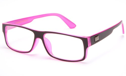 Newbee Fashion® - Hot Sellers Nerd Geeky Trendy Cosplay Costume Unique Clear Lens Fashionista (Hot Nerd Costumes)
