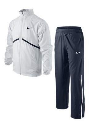 Nike Boy's Tennis Warmup Pant and Jacket Size M (White) ()