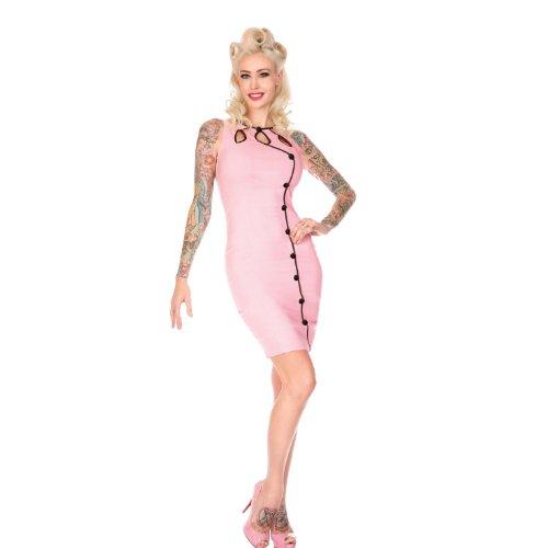 Voodoo Vixen - Vestido - para mujer Rosa