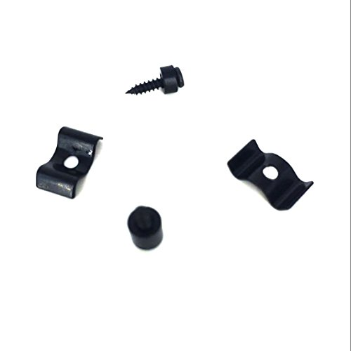 1set String Tree Guide Retainer Body Custom Black for Fender Strat Tele Replacement Guitar Parts