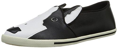 Marc by Marc Jacobs Women's Neville Slip On Fashion Sneaker, Black, 39.5 EU/9.5 M US