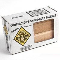 Nelson Wood Shims CSBP56 Csh8/56/120/Mgd 8'' Bulk Contractor