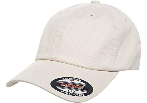 Flexfit Cotton Twill Dad Hat | Low Profile, Stretch Fit Ballcap w/Hat Liner (Large/X-Large - ()