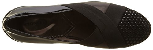 Stonefly Licia II 3 Goat Sued, Mocassins (Loafers) Femme Noir (Nero/Black)