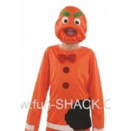 Ginger Bread Man - Halloween - Childrens Fancy Dress Costume - Medium - 124cm - -