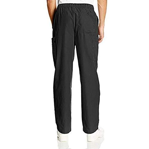 Primavera Los Otoño De Battercake Con Algodón Salón Pantalones Negro Hombres Cordón Casuales Jogging Deportivos Cómodo nzzqpxR