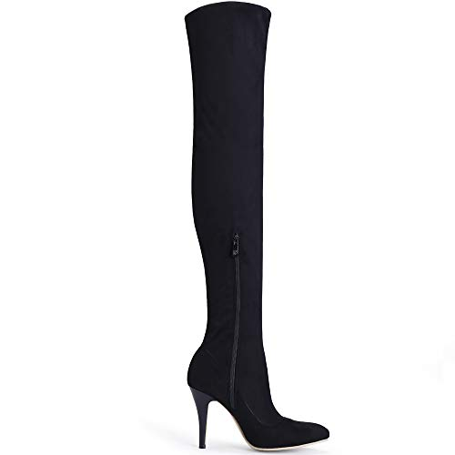 Shoe'N Tale Thigh High Stretchy Winter Boots
