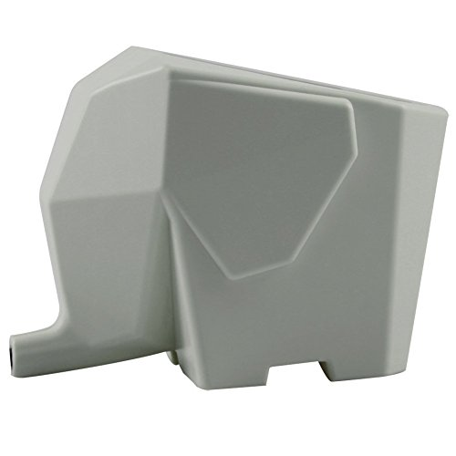 Agile-Shop Cute Elephant Design Plastic Cutlery Drainer Storage Holder Box for Home Kitchen, Bathroom, Toothbrush, Small Knife Accessories (Gray)