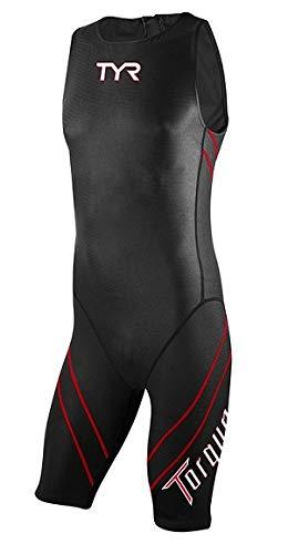 (TYR Torque Pro Shortjohn Speedsuit: Black; MD)