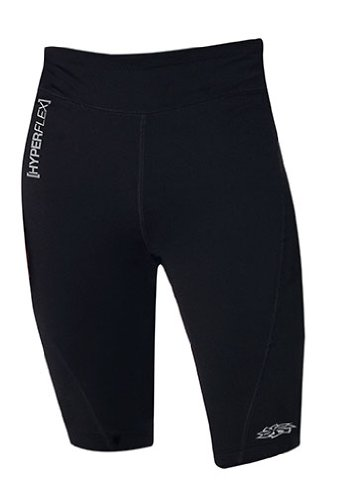 Hyperflex Wetsuits Men's Polyolefin Shorts, Black, Large - Surfing, Windsurfing & Wakeboarding