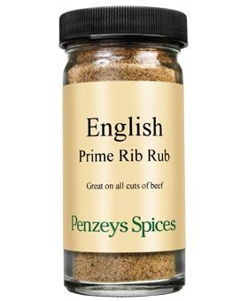 English Prime Rib Rub By Penzeys Spices 3.1 oz 1/2 cup jar