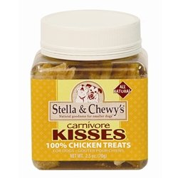 Stella and Chewys 186011000199 CARNVOR KISS CHICKEN 2.25OZ