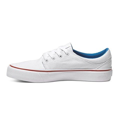 DC Trase TX J BKW Damen Sneakers White/Blue/Red